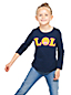 Le T-Shirt Graphique Smiley, Fille