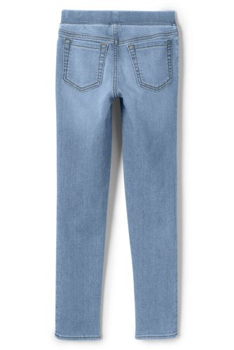 Girls Iron Knee Denim Jegging Jeans