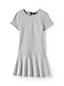 Girls' French Terry Drop Waist Dress