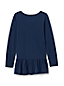 Little Girls' Ruffle Back Graphic Tunic Top