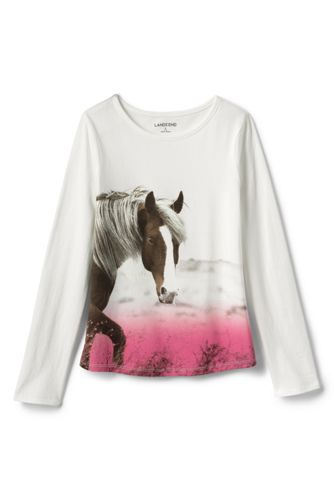 Le T-Shirt Graphique Imprimé, Toute Petite Fille