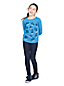 Grafik-Shirt mit Allover-Print für große Mädchen