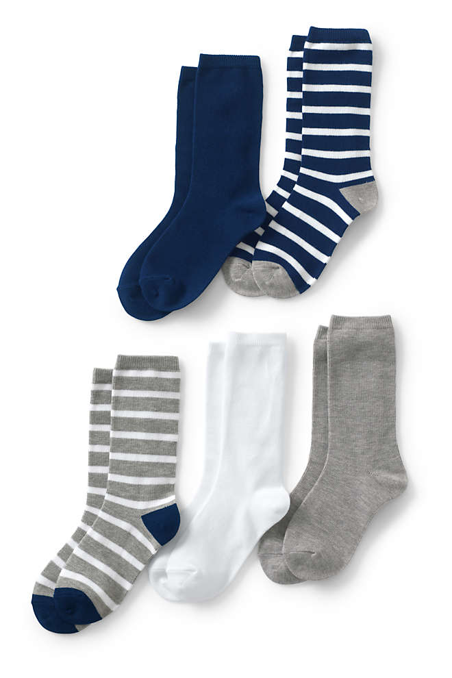 Boys Patterned Socks (5-Pack), Front