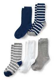 Boys Patterned Socks (5-Pack)