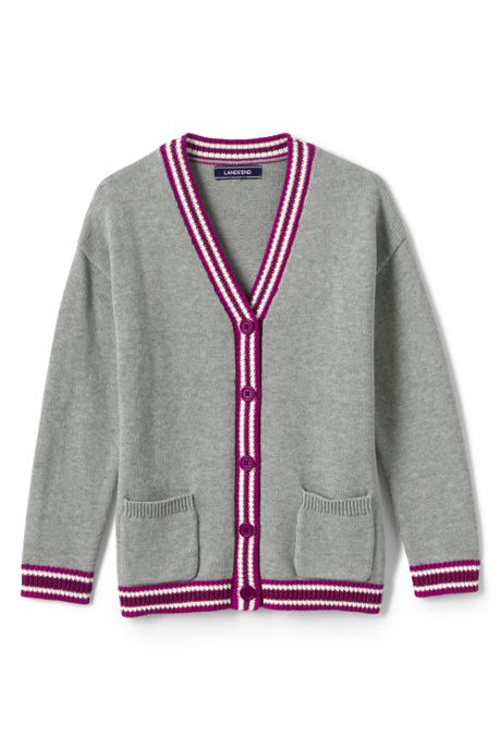 Little Girls Varsity Cardigan