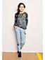 Girls' Iron Knees Novelty Girlfriend Jeans
