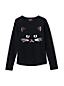 Toddler Girls' Long Sleeve Novelty Embellished Graphic Tee