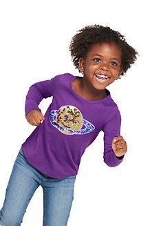Verziertes Grafik-Shirt für  Mädchen