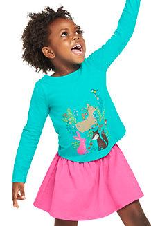 Grafik-Shirt mit Multicolor-Print für Mädchen