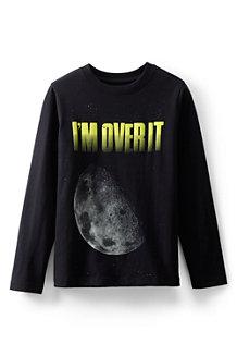Langärmeliges Grafik-Shirt für Jungen