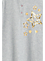 Girls' Graphic Henley Tunic Top