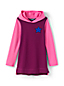 Little Girls' Graphic Hooded Tunic Top