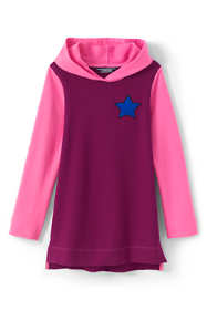 Little Girls Graphic Hoodie Tunic Top