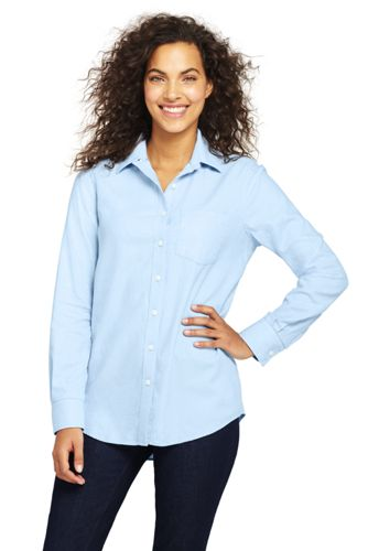 Women's Plus Brushed Flannel Herringbone Shirt