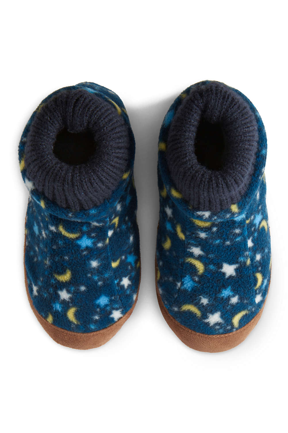 adc243abf Toddlers Fleece Bootie Slippers from Lands  End