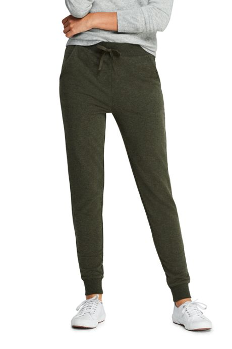 Women's Petite French Terry Joggers