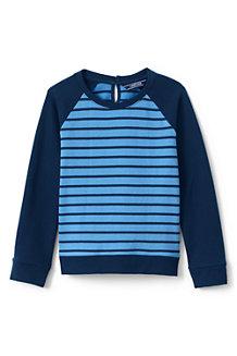 Girls' Striped Sweatshirt