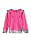 Toddler Girls' Ruffle Front Sweatshirt