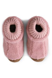 Teddyfleece-Hausschuhe für Kinder