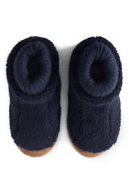 Kids Sherpa Fleece Bootie Slippers