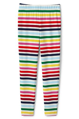 Little Girls' Iron Knees Ankle Length Novelty Jersey Leggings