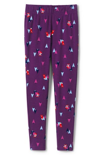 Toddler Girls' Iron Knees Print Leggings