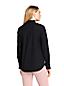 Women's Patterned Oxford Ruffle Shirt