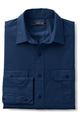 Men's Stretch Chino Work Shirt