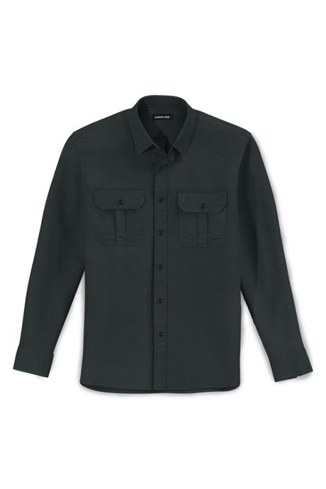 Men's Traditional Fit Comfort First Chino Work Shirt