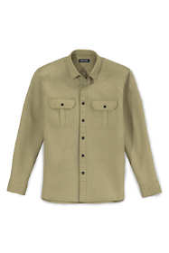 Men's Big and Tall Traditional Fit Comfort First Chino Work Shirt