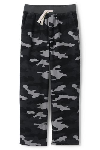 Little Boys' Iron Knees Pull-on Trousers, Camo Print
