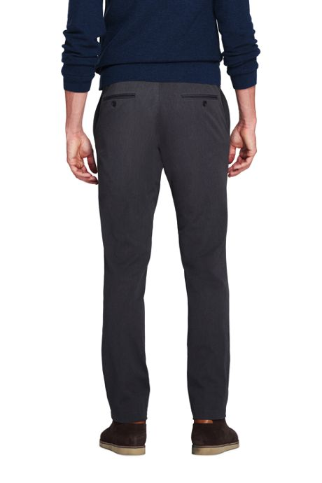 Men's Slim Fit Comfort-First Performance Travel Pants