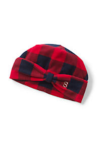 10b5a884801 Women s 100 Fleece Pattern Bow Beanie. 4 Colors Available