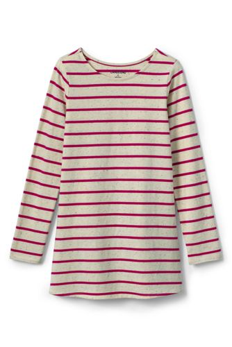 Little Girls' Ruffle Back Tunic Top