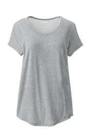 Women's U-neck Jersey T-shirt