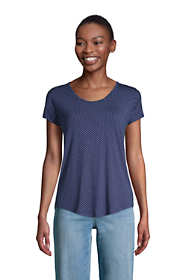 Women's U-neck Jersey T-shirt