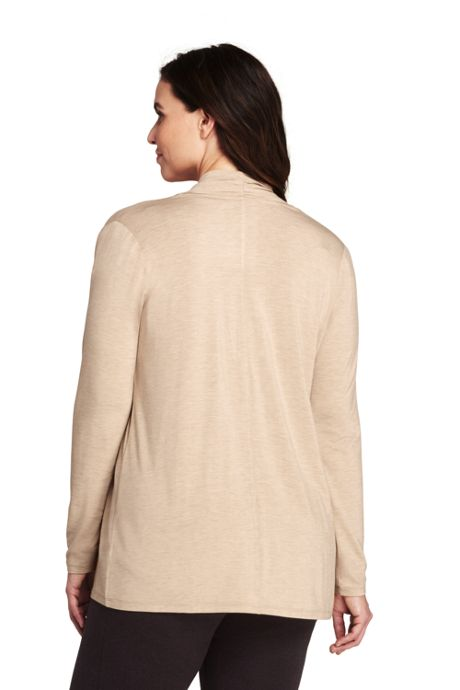Women's Plus Size Cascade Knit Cardigan
