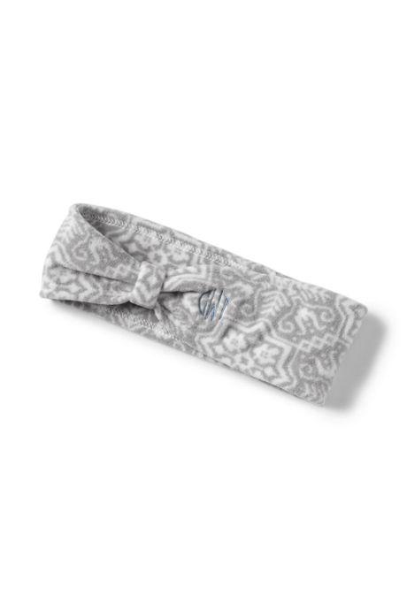 Women's 100 Fleece Pattern Twisted Earband