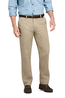 Le Chino Casual Coupe Confort Stretch Ourlets Sur-Mesure, Homme