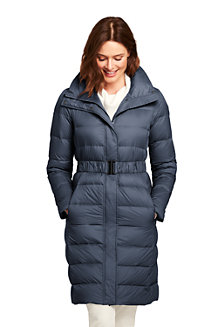 Women's Ultra Light Down Coat with Belt