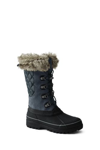 School Uniform Women's Squall Winter Snow Boots by Lands' End