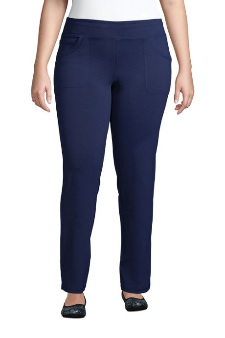 Women's Plus Size Active 5 Pocket Pants