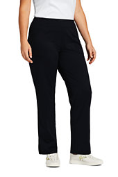 Lands' End Women's Plus Size Active 5 Pocket Pants