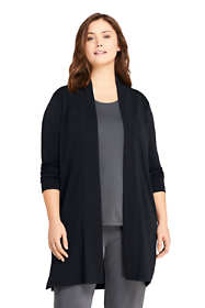 Women's Plus Size Matte Jsy Cardigan