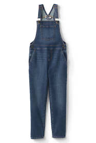 Toddler Girls Iron Knee Jean Overalls
