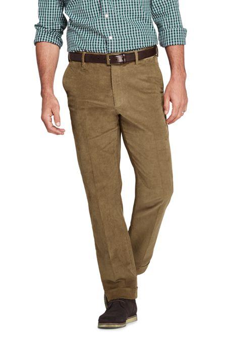 Men's Comfort Waist Comfort-First Fine Wale Corduroy Trousers