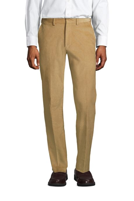 Men's Long Comfort Waist Comfort-First Fine Wale Corduroy Dress Pants