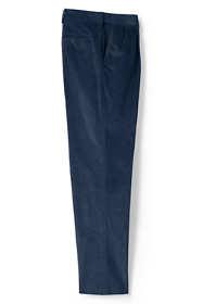 Men's Comfort Waist Pleat Front Comfort-First Corduroy Trousers