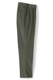 Men's Big and Tall Comfort Waist Pleated Comfort-First Corduroy Dress Pants