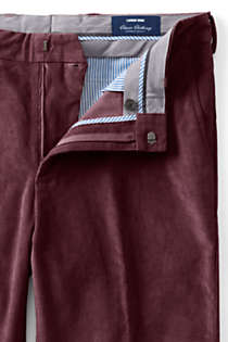 Men's Tailored Fit Comfort-First Fine Wale Corduroy Dress Pants, alternative image